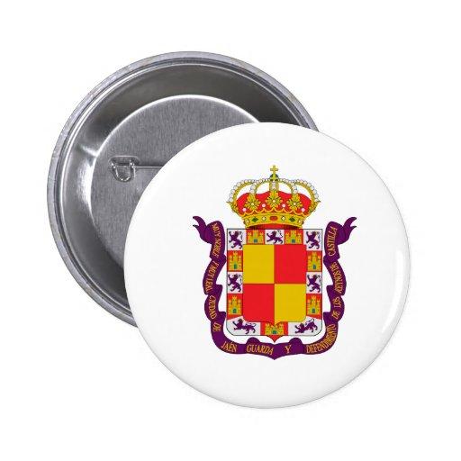 Jaén Coat of Arms Pinback Button