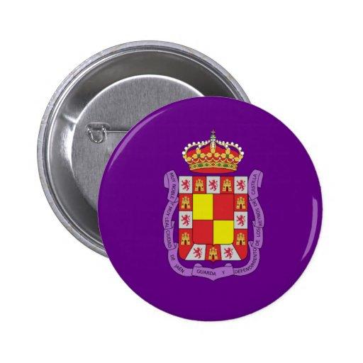 Jaén Flag Pinback Button