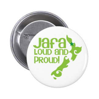 JAFA Loud and proud! (New Zealand Auckland) Button