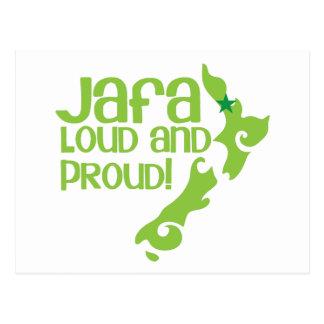 ¡JAFA ruidoso y orgulloso! (Nueva Zelanda Postales