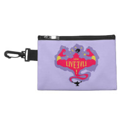 Clip On Accessory Bag with Jafar: Long Live Evil design