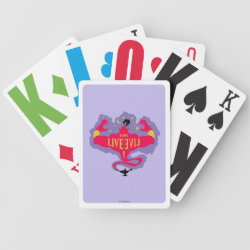 Playing Cards with Jafar: Long Live Evil design