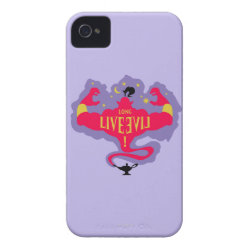 Case-Mate iPhone 4 Barely There Universal Case with Jafar: Long Live Evil design