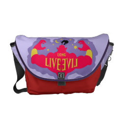 Rickshaw Medium Zero Messenger Bag with Jafar: Long Live Evil design