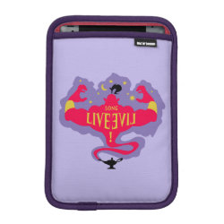 iPad Mini Sleeve with Jafar: Long Live Evil design