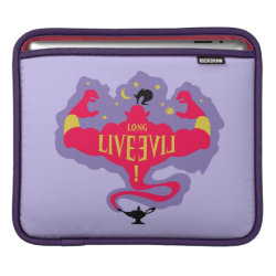 iPad Sleeve with Jafar: Long Live Evil design