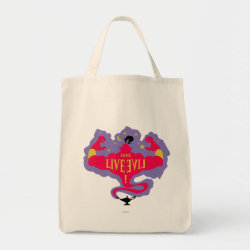 Grocery Tote with Jafar: Long Live Evil design