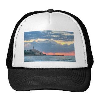 Jaffa at  sunset trucker hat