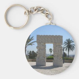 Jaffa Basic Round Button Keychain