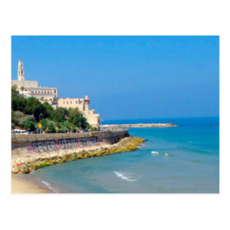 Jaffa beach postcard
