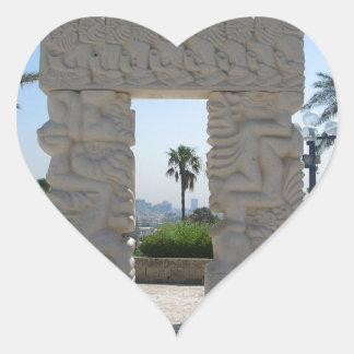Jaffa Heart Sticker