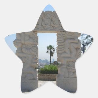 Jaffa Star Sticker