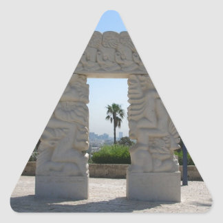 Jaffa Triangle Sticker