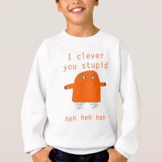 Jaffacake monster says sweatshirt