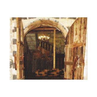 Jafra Entry Canvas Print