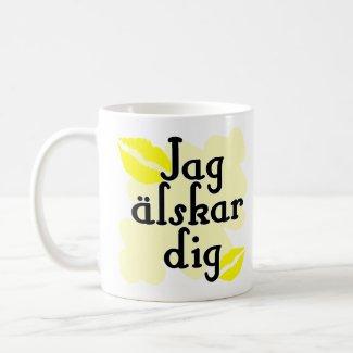 Jag älskar dig - Swedish I Love You mug