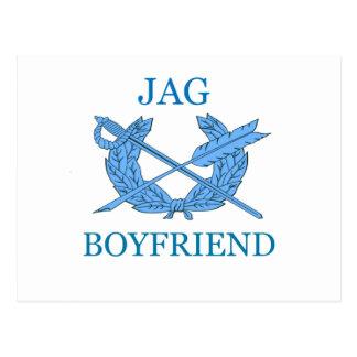 Jag Boyfriend Postcard