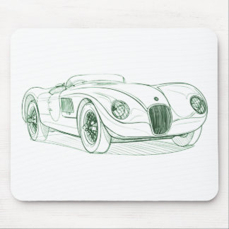 Jag C Type Mouse Pad
