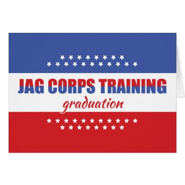JAG Corps - Judge Advocate General, Training Grad Card