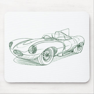 Jag D Type Mouse Pad