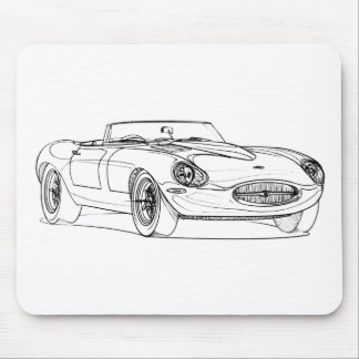 Jag Eagle E-type Speedster 2011 Mouse Pad