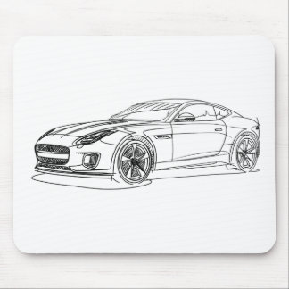 Jag F-Type 400sprt 2017 Mouse Pad
