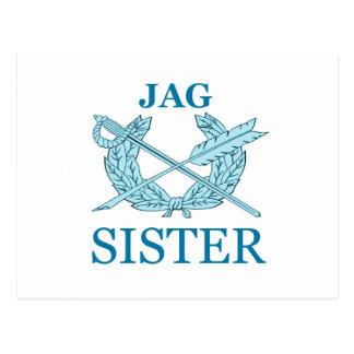 Jag Sister Postcard