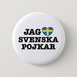 Jag Svenska Pojkar Button