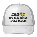 Jag Svenska Pojkar Trucker Hat