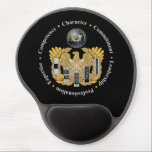 "JAG Warrant Officer Mouse Pad<br><div class=""desc"">Make everyone else in the office jealous with this stunning mouse pad.</div>"