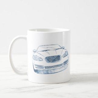 Jag XF Coffee Mug