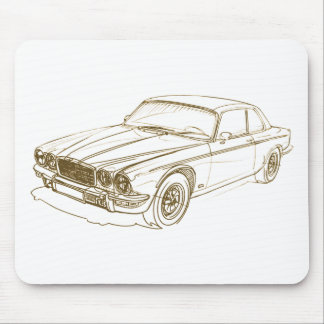 Jag XJ ser2 coupe 1973-79 Mouse Pad