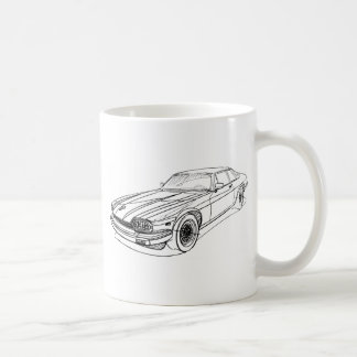 Jag XJS 1989 Coffee Mug