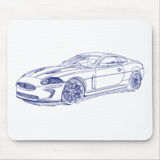 Jag XKR 2011 Mouse Pad