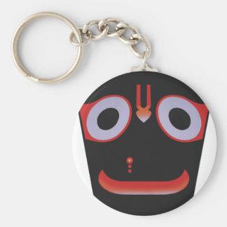 Jagannatha Basic Round Button Keychain