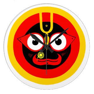 jagannatha señor reloj de pared del universo