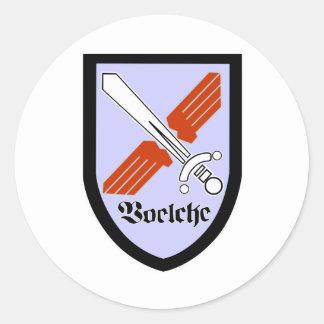 Jagdbombergeschwader 31' Boelcke Pegatina Redonda