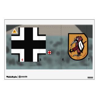 Jagdgeschwader 51 (JG 51) Mölders Wall Sticker