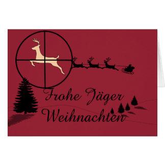 Jagdliche Christmas card