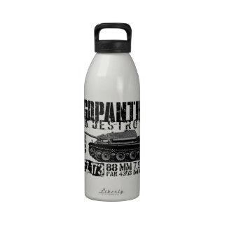 Jagdpanther Water Bottles