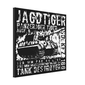 JAGDTIGER estiró la impresión de la lona