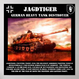 Jagdtiger German Tank Destroyer Print