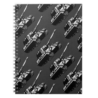 JAGDTIGER Spiral Photo Notebook