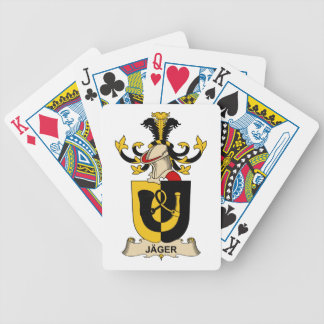 Jäger Family Crest Bicycle Playing Cards