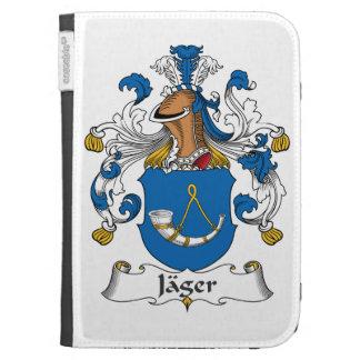 Jager Family Crest Kindle Keyboard Case