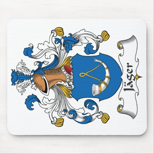 Jager Family Crest Mousepads