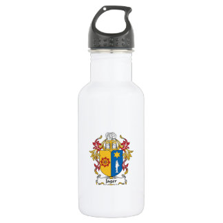 Jager Family Crest Stainless Steel Water Bottle