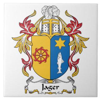 Jager Family Crest Ceramic Tiles