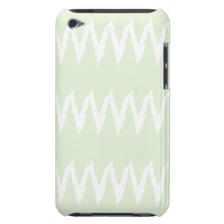 Jagged Chevron Stripes Barely There iPod Cover