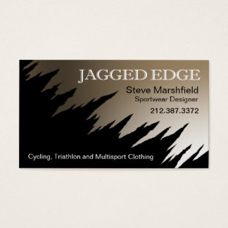 Jagged Edge Business Card template